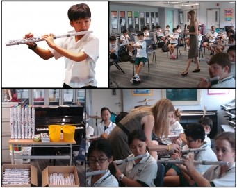 Nuvo Instruments in Action at South Island School, Hong Kong
